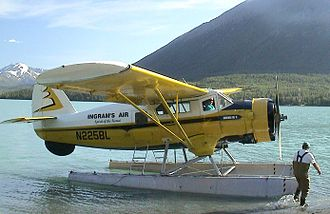"Cooper Landing, Alaska - The ""Spirit of the Kenai"" operates as a charter out of Cooper Landing."