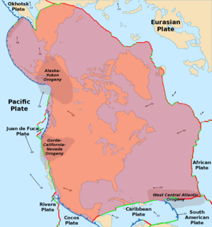 North American Plate Large tectonic plate including most of North America, Greenland and part of Siberia.