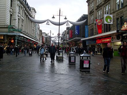 Looking north along Northumberland Street in 2009 Northumberland Street - geograph.org.uk - 1134691.jpg