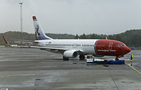 LN-DYB - B738 - Norwegian Air International