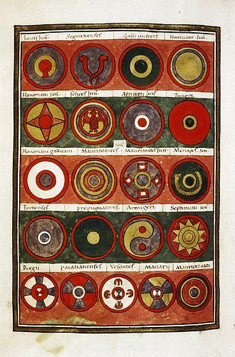 Notitia Dignitatum - Image: Notitia Dignitatum Magister Peditum 4