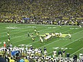 Notre Dame vs. Michigan football 2013 09 (ND on offense).jpg