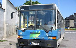 Number 40 bus in Pécs.jpg
