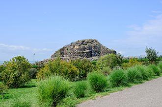 History of Italy - Su Nuraxi nuraghe, Sardinia, Italy, 2nd millennium BCE.