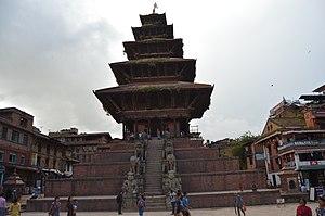 Bhaktapur Durbar Square - Nyatapola Temple