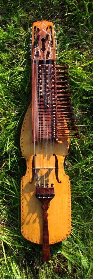Nyckelharpa - A nyckelharpa built by Fredrik Söderström.