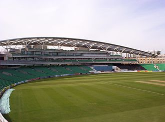Surrey County Cricket Club - The OCS Stand as pictured from the Bedser Stand