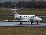 OE-FHK Cessna Citation Mustang 510 Globe Air (35091061161).jpg