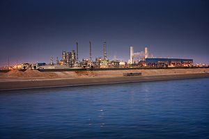 Natural gas in Qatar - Oryx GTL plant