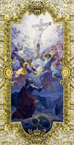 O Milagre de Ourique - Salvatore Nobili (Sant'Antonio in Campo Marzio) .png
