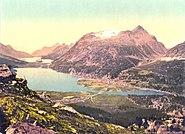 Oberes Engadin Silvaplana um 1900