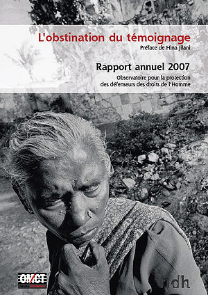 Front cover of the 2007 annual report of the O...