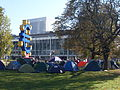 OccupyFrankfurt October2011 tents.JPG