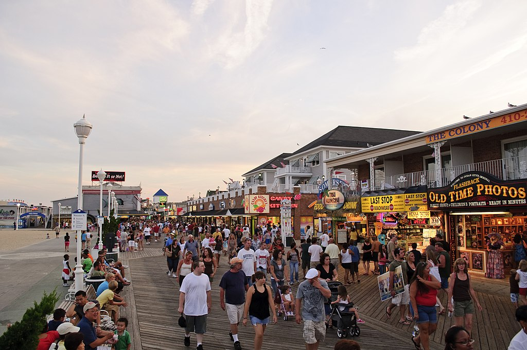 Ocean City MD Boardwalk August 2009 1