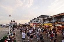 Ocean Beach Boardwalk San Diego