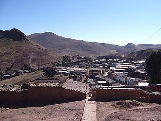 Chayanta Province Province in Potosí Department, Bolivia