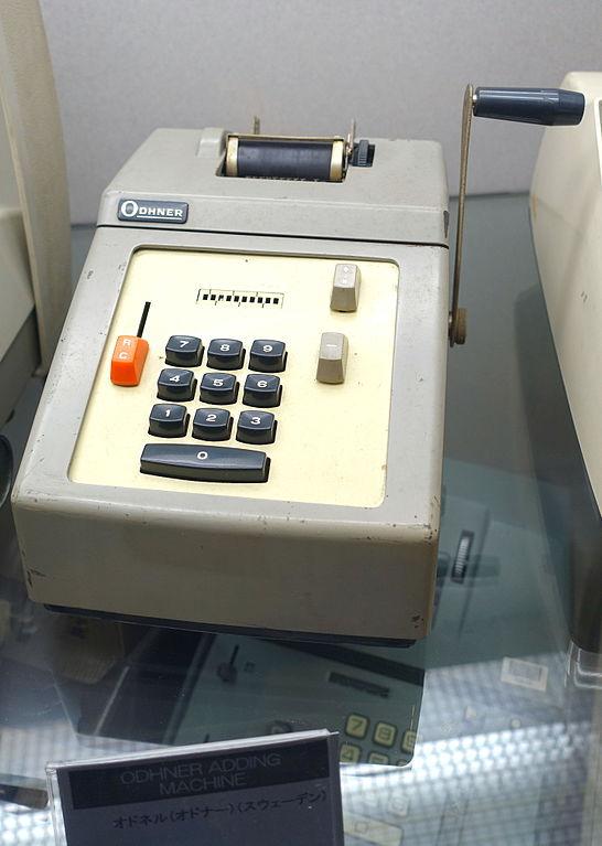 odhner adding machine