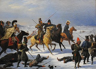 French retreat from Moscow in 1812.