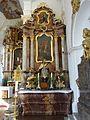 Offenstetten St. Vitus rechter Seitenaltar.JPG