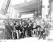 Officers of the USS Colorado off Korea in June 1871.jpg