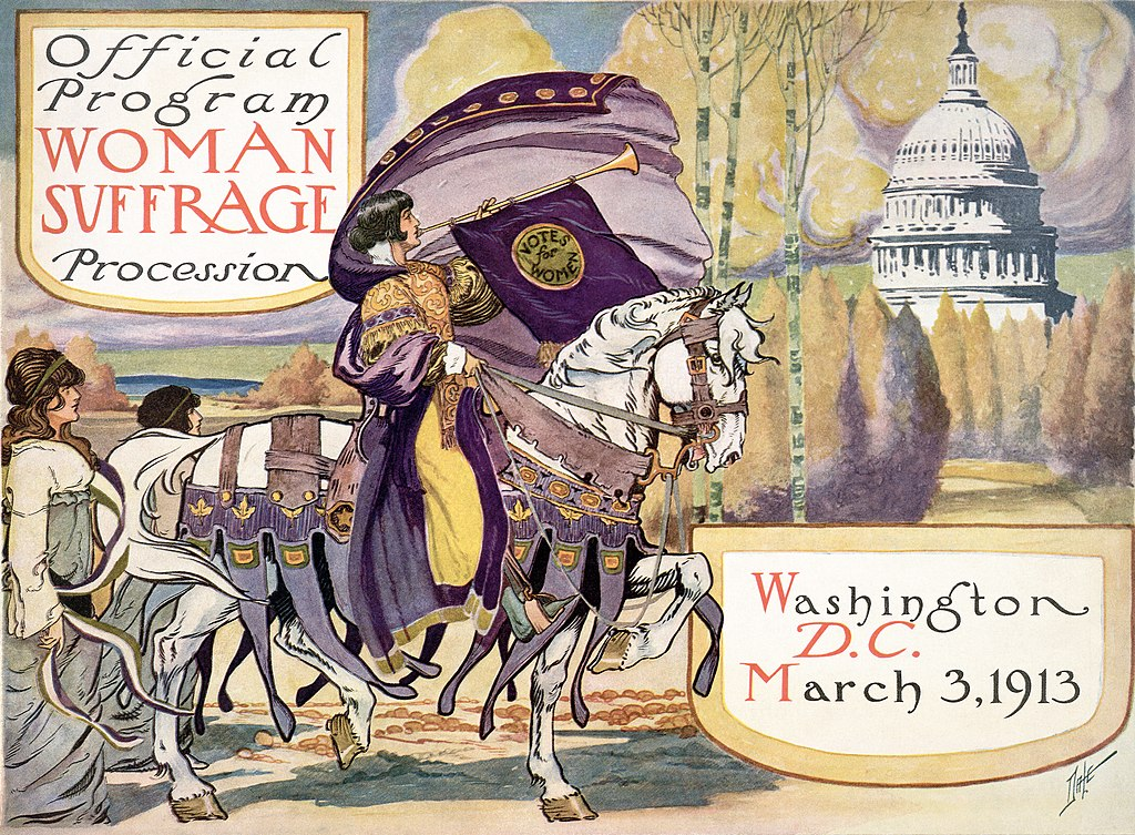 Official Program Woman Suffrage Procession - March 3, 1913.jpg