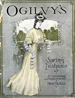 Ogilvy (department store) - Image: Ogilvy's spring fashions catalogue 1906