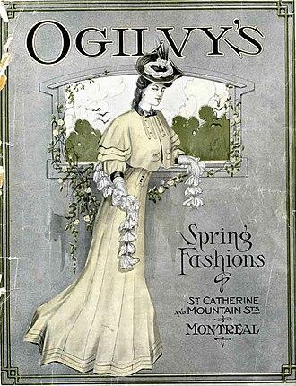 Ogilvy (department store) - Image: Ogilvy's spring fashions catalogue 1906