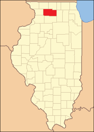 Ogle County, Illinois - Image: Ogle County Illinois 1839