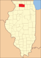 Ogle County after 1839, when Lee County was formed