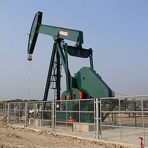 Oil well in Belize