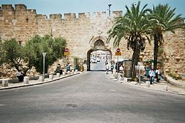 Old Jerusalem Dung Gate 2.JPG