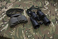 Old and new, Steiner Military 8x30 R binoculars with Avimo General Purpose Binocular L12A1 7x42 first issued to the Army in 1979. MOD 45158978.jpg