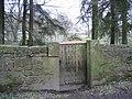 Old gate at Gwysaney - geograph.org.uk - 735681.jpg