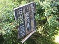 Old sign, Sashes Island - geograph.org.uk - 1605356.jpg