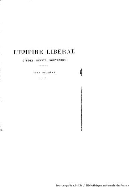 File:Ollivier - L'Empire libéral, tome 12.djvu