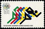 Olympic Games Munich Running 15c 1972 issue U.S. stamp.jpg