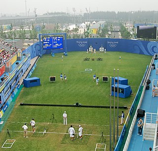 Archery at the 2008 Summer Olympics – Mens team Mens team events at the Olympics