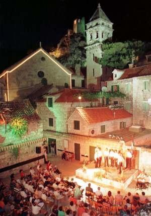 Omiš - Klapa festival in Omiš