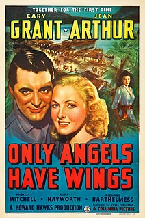 <i>Only Angels Have Wings</i> 1939 film by Howard Hawks