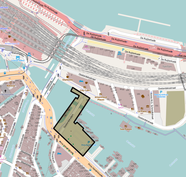 Bestand:Oosterdoksdam-Amsterdam-map.png