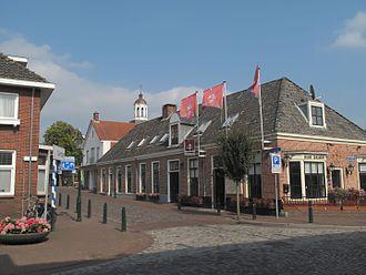 Ootmarsum - Ootmarsum, view to a street: Grotestraat-Almelosestraat