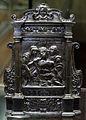 Orafo toscano, pace, 1590-1610 ca., bronzo argentato.JPG
