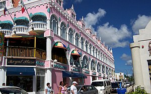 Aruba - The capital, Oranjestad
