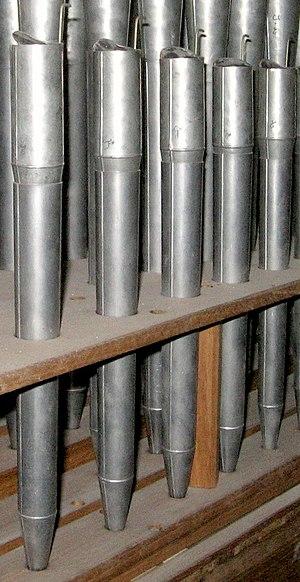 Vox humana - Vox humana pipes