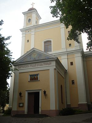 Orthodox Church of the Holy Spirit, Vilnius - Image: Orthodox Church of the Holy Spirit in Vilnius 2