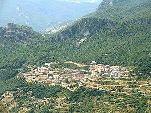 Osini - Panorama of Osini