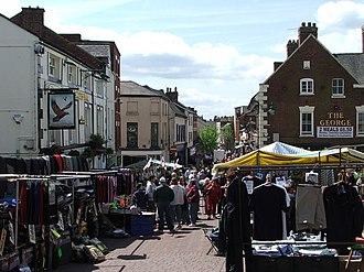 Oswestry - Image: Oswestry Market