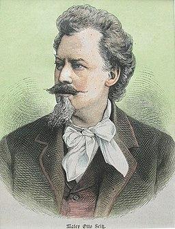 Otto Seitz (Maler), 1884