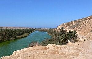 Souss-Massa National Park - Image: Oued massa