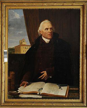 Pierre-Adrien Pâris - Portrait of Pierre-Adrien Pâris in 1812 by Joseph-François Ducq, Musée des Beaux-Arts de Besançon.